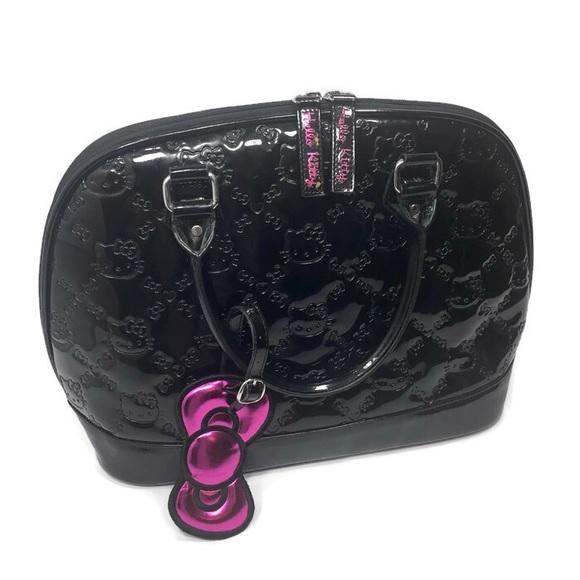 Sanrio Handbags - Hello Kitty Black Purse Bag Patent Leather